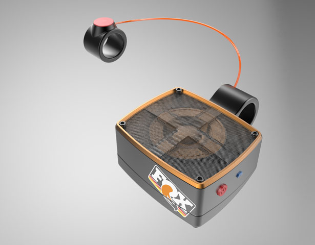 Fox Factory Speaker Concept by Berkley Wilcox