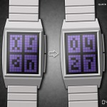 Framed LCD Watch Reminds You of The Retro Atari