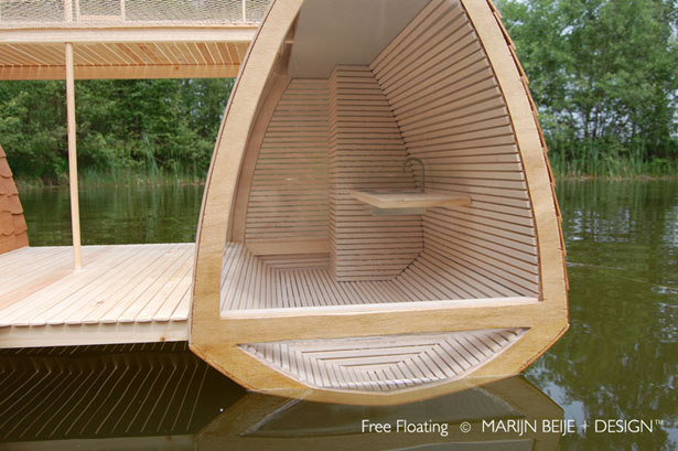 Free Floating - Floating Catamaran Suite by Marijn Beije