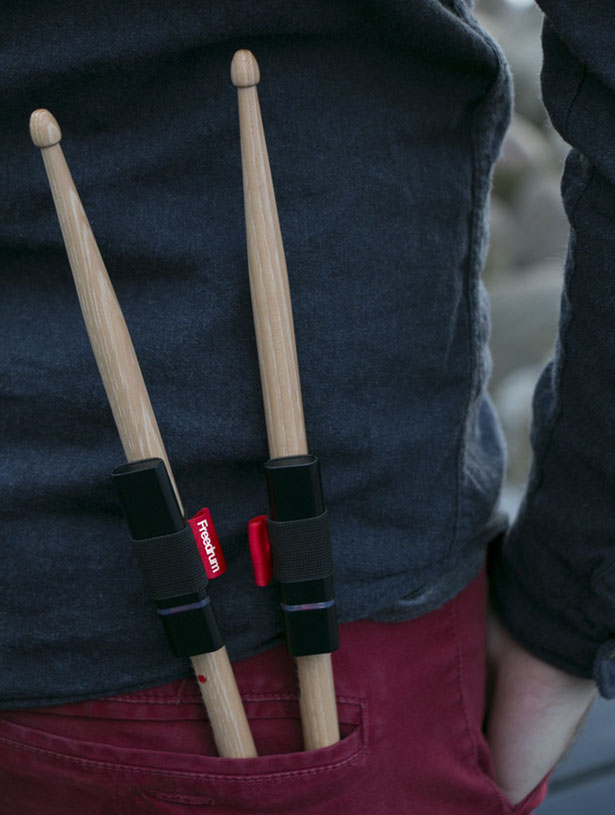 Freedrum : Portable Drumkit That Fits in Your Pocket