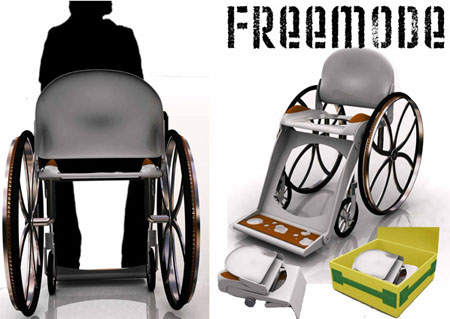 freemode lightweight wheelchair