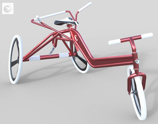 Freeride Special Needs Trike by Alex Dorman