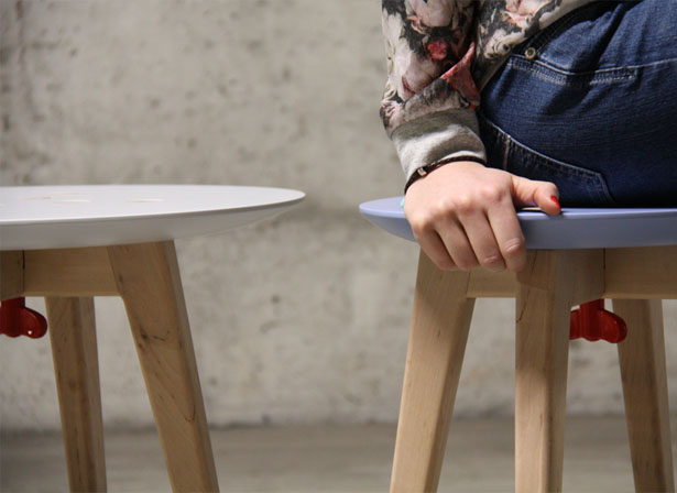 Frida Customizable Furniture by Andrea Zanocchi and Carolina Starke