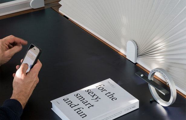 Friendly Border - a Pop Up Border Offers Instant Privacy in An Open Space by NJUstudio