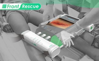 Front Rescue Portable Operating Room Concept for Quick Surgery On-The-Spot