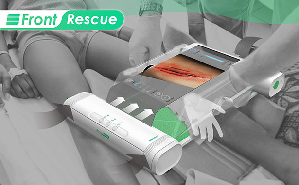 Front Rescue Portable Operating Room Concept by Chieh-An Chung, Chang-Yu Lung, and Zi-Shan Zhang