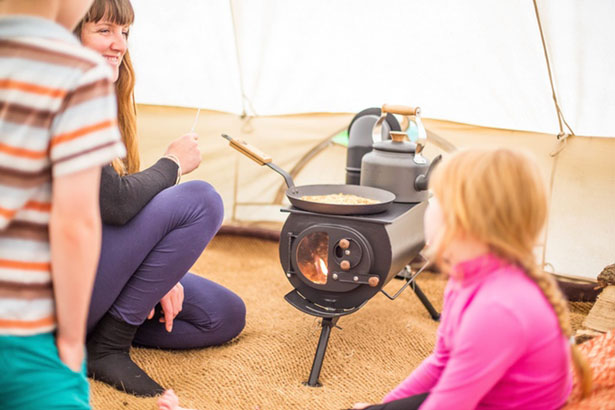 Frontier Plus - Portable Woodburning Stove by Anevay