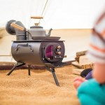Frontier Plus - Portable Woodburning Stove Can Be Installed in Tents, Teepees, or Small Cabins