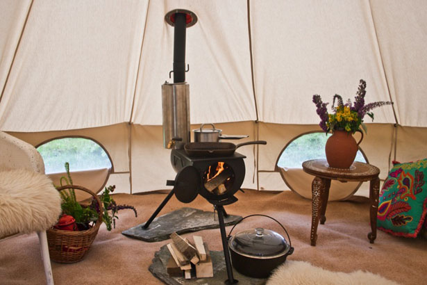 Frontier Plus - Portable Woodburning Stove by Anevay - Frontier Plus – Portable Woodburning Stove Can Be Installed In