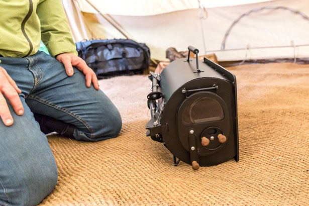 Frontier Plus - Portable Woodburning Stove by Anevay : wood burning stove for tent - memphite.com