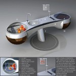 """Fruit of Life"" : Futuristic Tree Kitchen Concept"