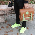 Fsnklvr Backpack : Stylish Camera Bag by Funfere Koroye
