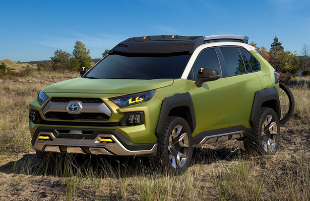 Futuristic Toyota FT-AC Concept SUV for An Adventurer