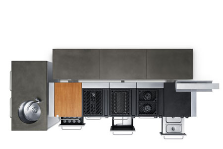 fuego modular kitchen