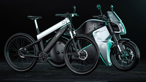 Fuell Releases Fuell Flow-1 Electric Motorcycle and Fuell Fluid-1 Electric Bike