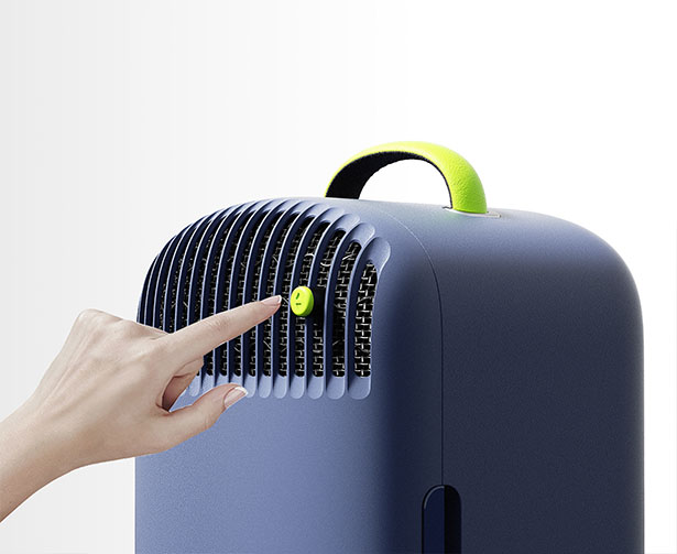 FUFU Concept - Portable Air Conditioner and Fridge in One