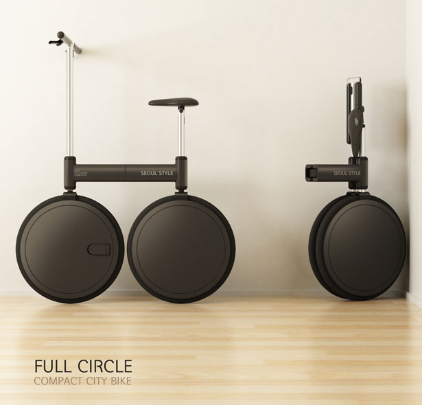Full Circle Compact City Bike by Sanghyun Jeong