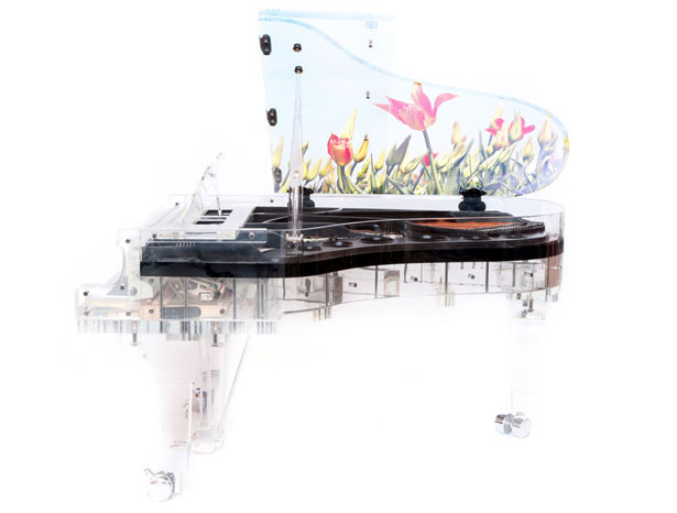 Full Crystal Grand Piano