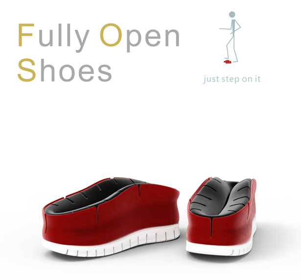 Fully Open Shoes