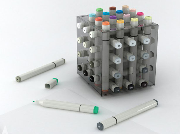 Fume Marker Pen Stand by Design Nobis