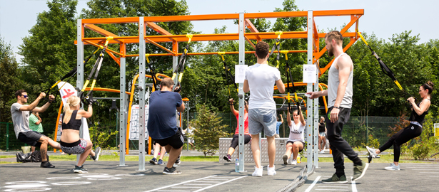 Functional Training Systems by Kompan