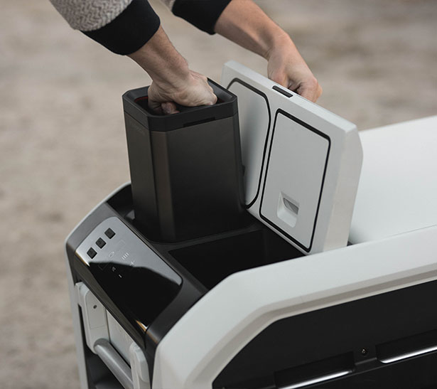 Furrion's eRove Cooler with Solar Charging System