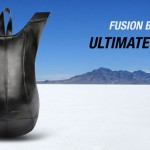 Fusion Ultimate Black Backpack Fits Natural Curves of Your Body