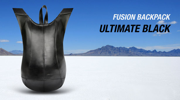 Fusion Ultimate Black Backpack by Jerome Olivet