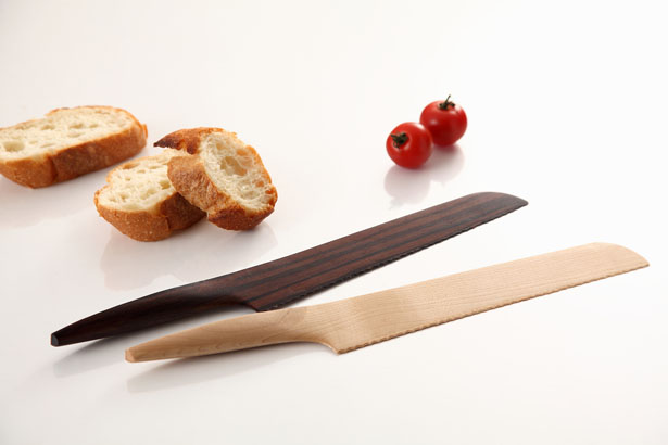 Fusion Wooden Kitchen Knives Collection by Andrea Ponti