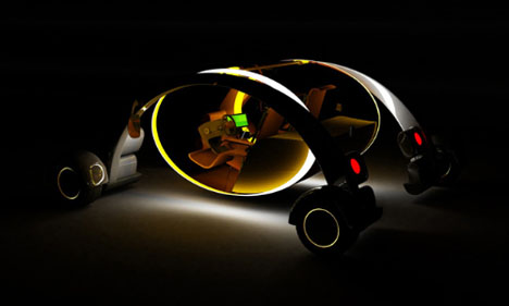 Future Electric Car Design by Duncan Campbell