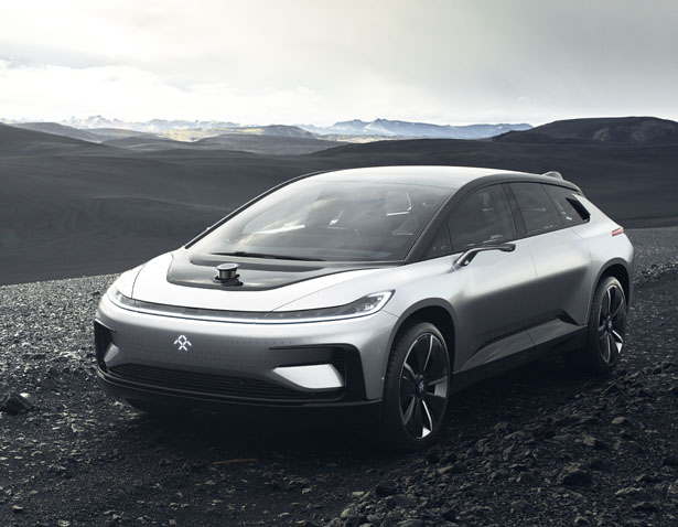 Future Faraday FF 91 Futuristic Concept Car