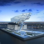 Future Headquarters of Antwerp Port Authority by Zaha Hadid Architects