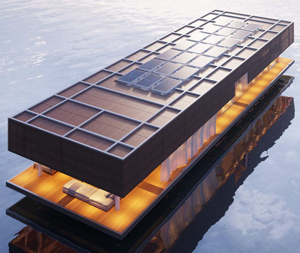 Waterlovt Houseboat: Modern and Luxury Houseboat Built By a World Class Boat Builder