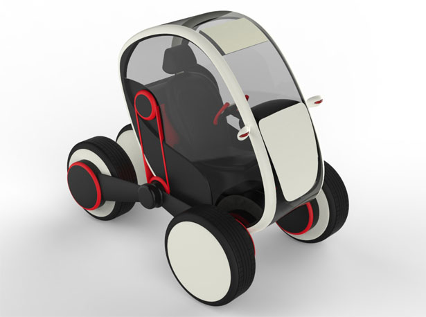 Future Personal Transportation System by Sanu K R