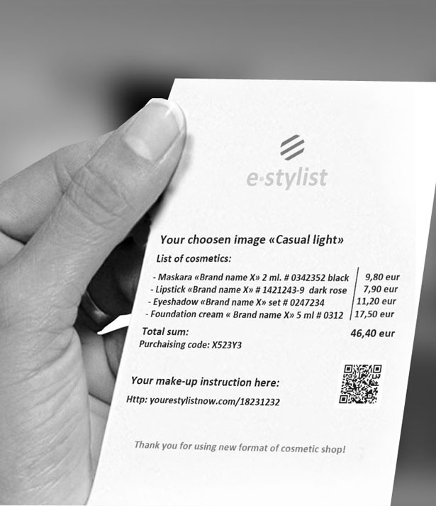 Future Retail Cosmetic Sales - e-Stylist by Stas Qlare