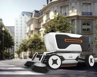The Future of Street Cleaner System is Robots!