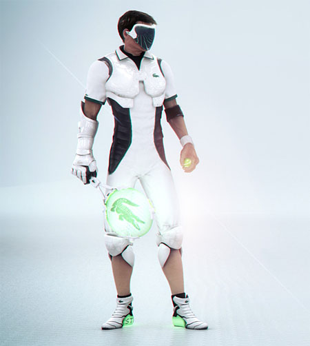 tennis with lacoste in the future