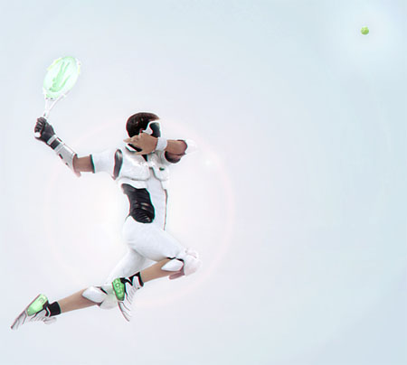 future tennis with lacoste