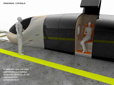 Future Train With Individual Capsule But Not For Long