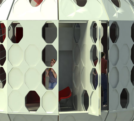 future urban shelter concept