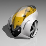 Personal Electric Vehicle Concept for 2020 by Sergio Luna