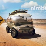 Hemisferio Criativo Nimbus e-Car is A Cute Futuristic Concept Car for A Variety of Terrain