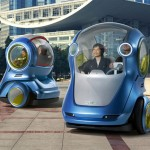 Futuristic Vehicles EN-V by General Motors Can Make Urban Commuting More Efficient