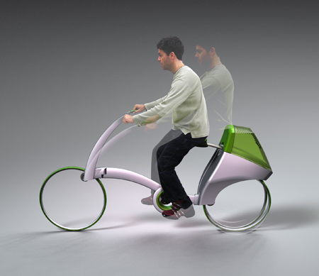 fwd human powered bike