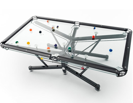 The G1 Billiard Table Can Offer Unique Transparent Playing Experience