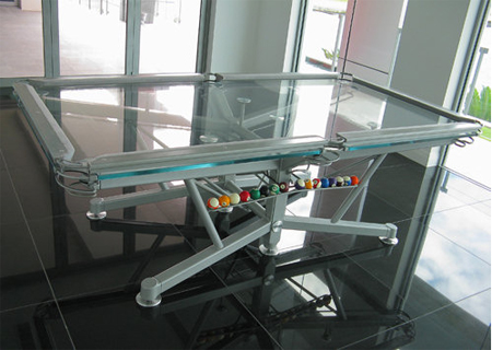 g1 billiard table offers unique pool playing