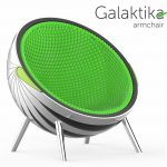 Galaktika Armchair: Artistic Multi-functional Chair for Airport VIP Lounges