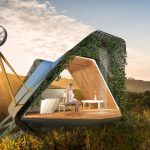 Galini Sleeping Pod Eco-Friendly Structure for Challenging Sites Without Disturbing Existing Ecosystems