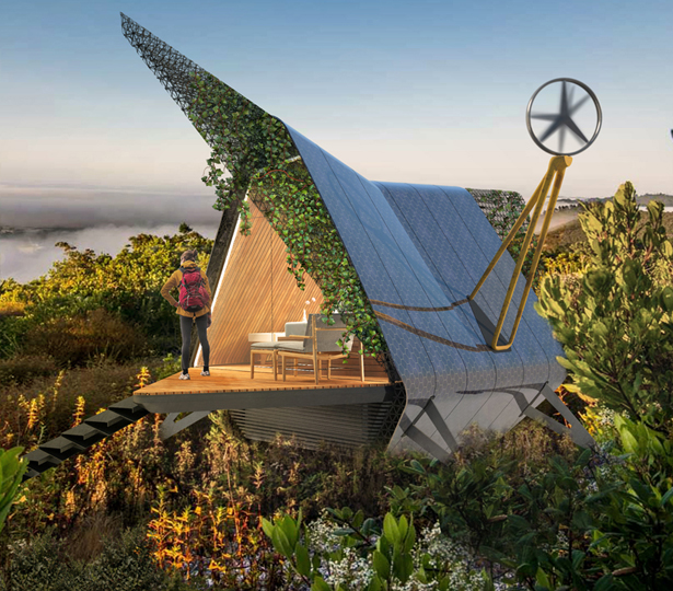 Galini Sleeping Pod Eco-Friendly Structure for Challenging Sites by DFA