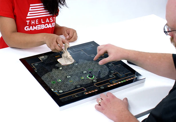 LastGameBoard - The Future of Tabletop Gaming System Allows You to Play Any Gameboard